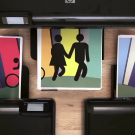 VIDEO: HP printers, a love story