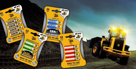 JCB batteries: The tough alternative to Duracell?