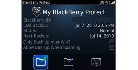 BlackBerry Protect: Keeping tabs on a wandering-RIM