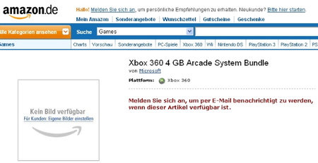 Xbox 360 S Arcade version spotted?