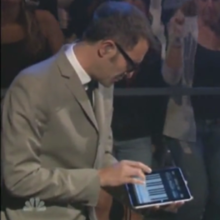 VIDEO: iPad used by Squeeze on Late Night with Jimmy Fallon