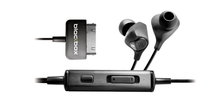 Blackbox i10 earphones: Noise-cancelling for fanboys
