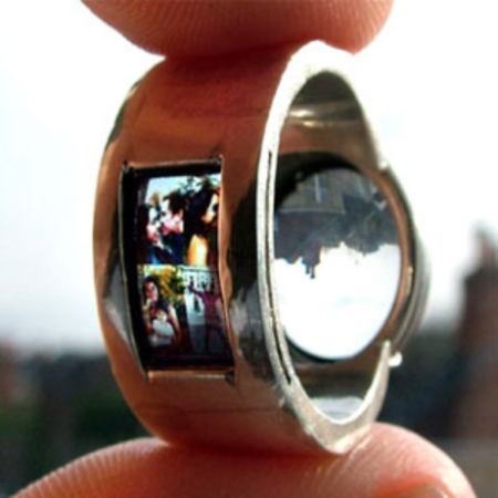 Project your love... with your wedding ring