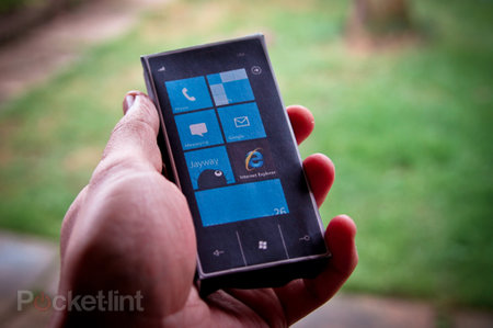 Get a Windows 7 phone now...