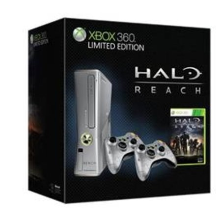 Limited edition Halo Reach Xbox 360 S powers up