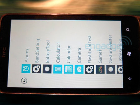 HTC Windows Phone 7 spy shots leak out