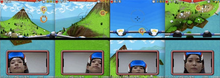 Nintendo DSi game uses face controls