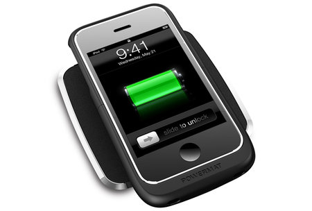 Dinky Powermat 1x for iPhone 3G/3GS arrives