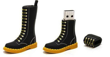 Dr Martens USB boot drive that lets you boot up your PC