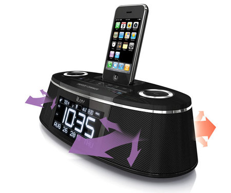 iLuv's new iPod docks are alarming