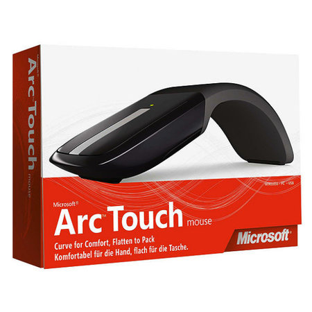 Microsoft Arc Touch Mouse unveiled, then pulled
