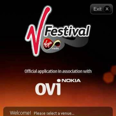 APP OF THE DAY - Virgin Media V Festival 2010 App (Nokia)