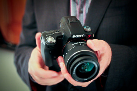 Sony A33 and A55 hands-on