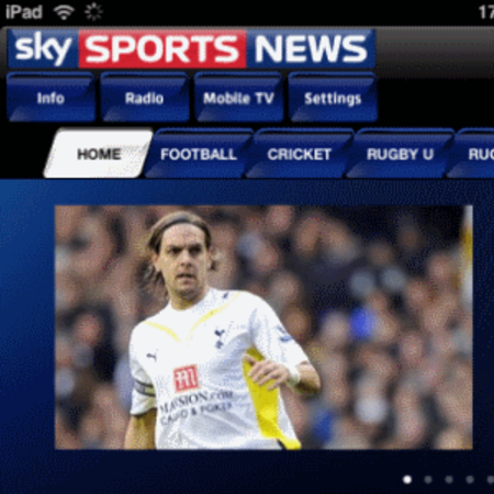 APP OF THE DAY: Sky Sports News (iPhone & iPad) - photo 1