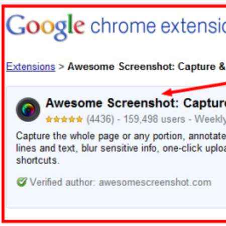 Awesome Screenshot for Chrome is, well, awesome
