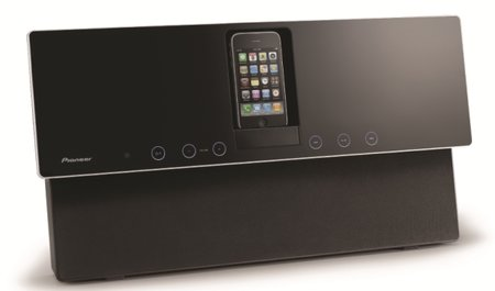 Pioneer KODO XW-NAW1 iPod dock goes to the wall