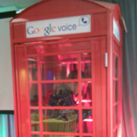 Red phone boxes resurrected by Google Voice