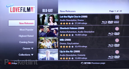 APP OF THE DAY - Lovefilm (Samsung Internet@TV)