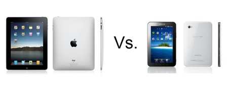 Apple iPad vs Samsung Galaxy Tab