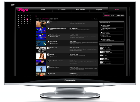 BBC iPlayer now on your Panasonic TV