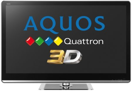 Sharp goes 3D with Aquos Quattron LE925 LED TV