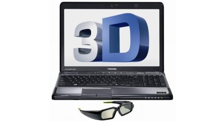 Toshiba beefs up the 3D on the Satellite A665 laptop