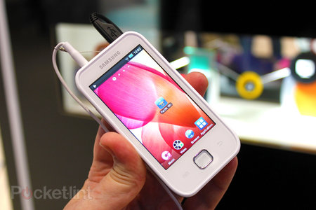 Samsung Galaxy Player 50 hands-on