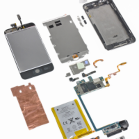 iPod touch 4G teardown treatment