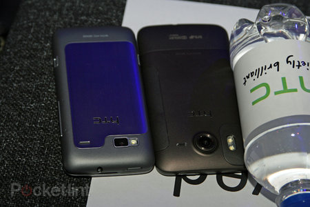 HTC Desire HD and Desire Z snapped