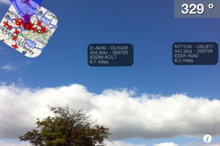 Plane Finder AR app lets you be the ultimate plane spotter