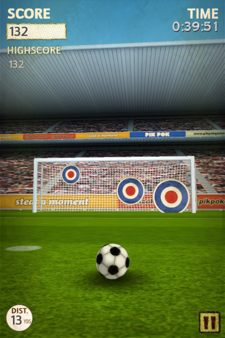 APP OF THE DAY - Flick Kick Football (iPhone) - photo 8