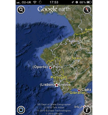 APP OF THE DAY: Google Earth (iPhone, iPod, iPad)