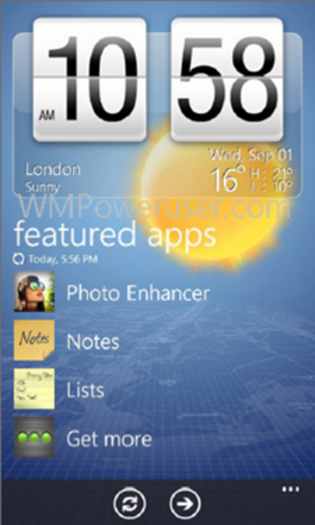 HTC working the rules to bring Sense UI to Windows Phone 7
