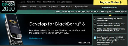 BlackBerry BlackPad getting BlackBerry Devcon 2011 unveil?