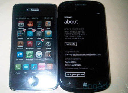 Samsung SGH-i916 (Cetus) snapped