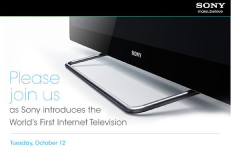 Sony sets date for Google TV unveil