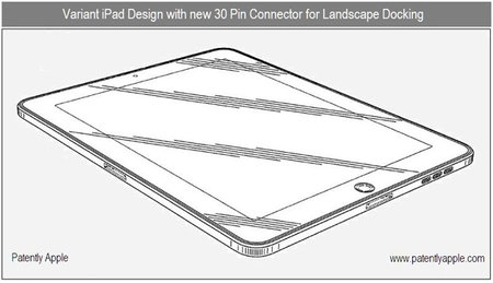 iPad 2 patent shows possible future features