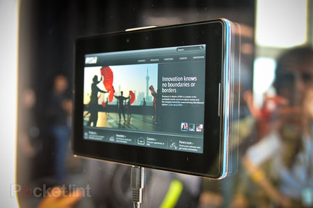 BlackBerry PlayBook Eyes on