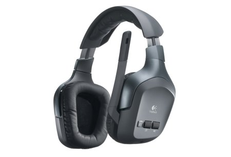 Logitech F540: Wireless headset for considerate gamers