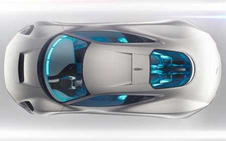 Jaguar C-X75 electric concept car loves Tron