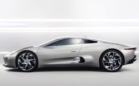 Jaguar C-X75 electric concept car loves Tron - photo 3