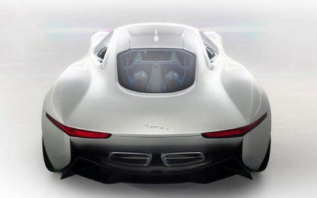 Jaguar C-X75 electric concept car loves Tron - photo 6