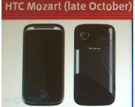 HTC Mozart: Landing in October