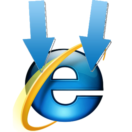 Internet Explorer worldwide use falls below 50 per cent
