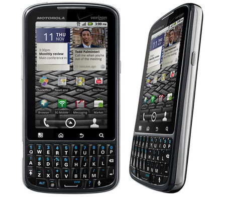 Motorola Droid Pro: like a BlackBerry with Android