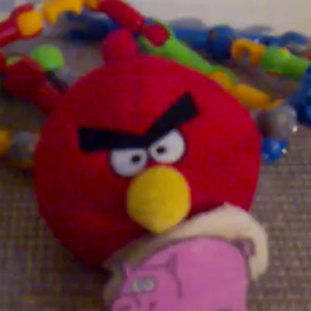 VIDEO: Angry Birds prototype plush toy in action