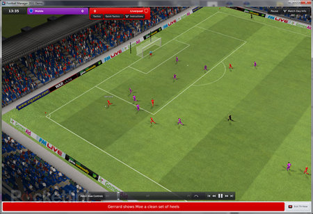 Football Manager 2011 demo available for download