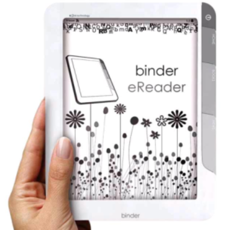 Sagem Binder signs up for the ebook reader revolution