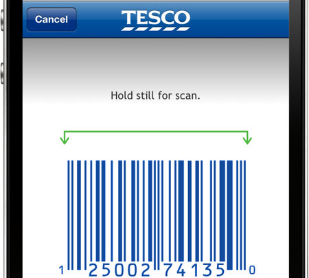 APP OF THE DAY - Tesco Groceries (Barcode reader update for iPhone)