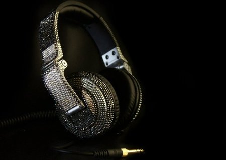 It's a bling ting: Swarovski inspired Pioneer HDJ-2000 headphones - photo 2